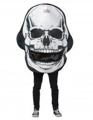Kostume dødningehoved til voksne