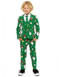Jakkesæt Mr. Santaboss til børn Opposuits™ til jul