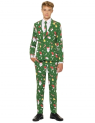 Jakkesæt Mr. Santaboss til teenagere Opposuits™ til jul