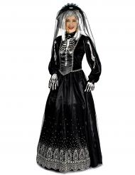Kostume brud i sort Halloween