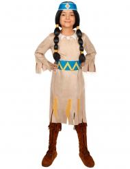 Kostume Regnbue - Yakari™ til piger