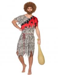 Kostume forhistorisk mand