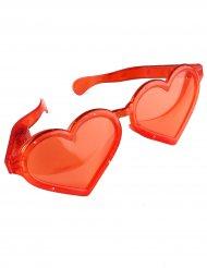 Briller kæmpe hjerter lysende
