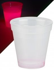 Selvlysende glas 250 ml - rød
