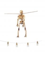 Guirlande med skeletter Halloween