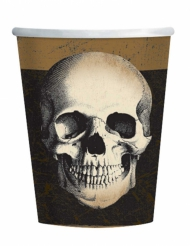 10 papkrus kranie Halloween 266 ml