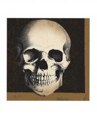 20 papirservietter 33 x 33 cm - Kranie Halloween!