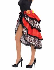 Dia de los Muertos skørt til kvinder