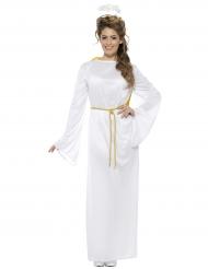 Kostume hvid engel til voksne