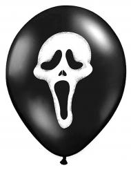 Balloner 6 stk. Scream Halloween