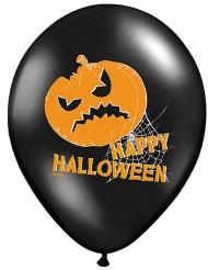 Balloner 6 stk. græskar Happy Halloween