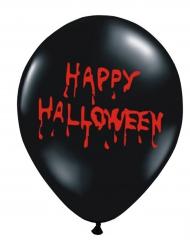 6 Latex balloner Happy Halloween 30 cm