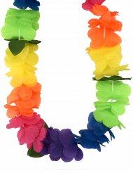 Halskæde Hawai multifarvet til voksne