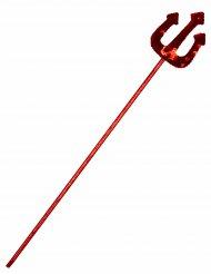 Djævlefork rød med pailletter til voksne og børn