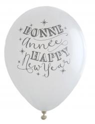 Balloner 8 stk. Bonne Année 23 cm