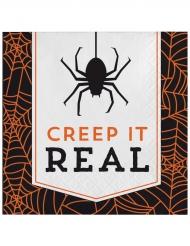 16 Papirservietter Halloween Creep it real 33 x 33 cm.