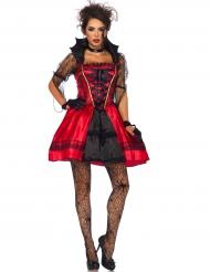 Kostume sexet gotisk vampyr til kvinder