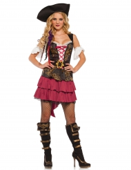 Kostume barok pirat til kvinder
