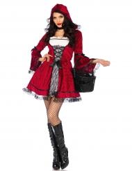 Kostume goth rødhætte til kvinder!