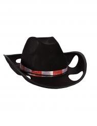 Cowboy hat med kopholdere