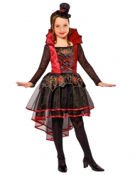Kostume victoriansk vampyr til piger Halloween