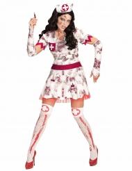Kostume zombie sygeplejerske Halloween
