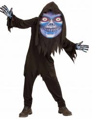 Kostume døden med stort hoved Halloween