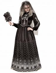 Gotisk skelet brudekostume til kvinder