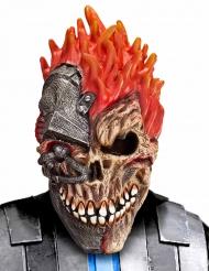 Cyber kranie Halloween maske til voksne