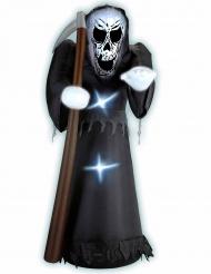 Oppustelig Manden med Leen 122 cm Halloween