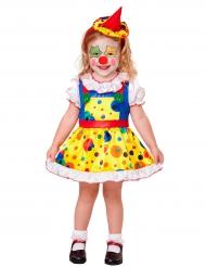 Kostume mini klovn til piger