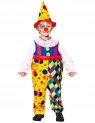 Kostume mini klovn til børn