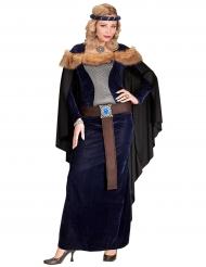 Kongelig middelalderkjole til kvinder