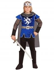 Kostume kongelig ridder blå til børn