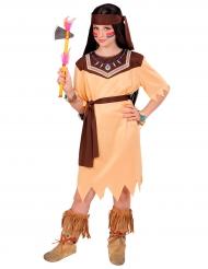 Kostume indianer prinsesse til børn