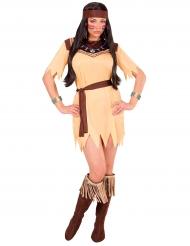 Kostume indianer prinsesse