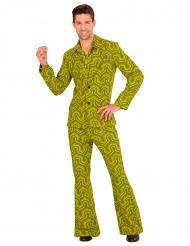 Grønt groovy 70´er kostume til mænd