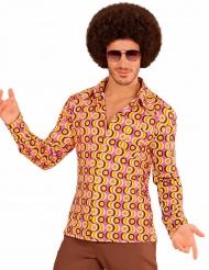 Skjorte groovy disco 70´er stil