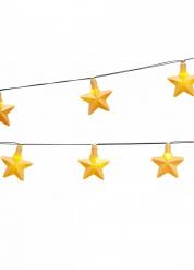 Guirlande med stjerner 250 cm