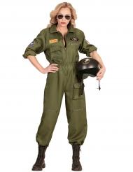 Kostume krigspilot til kvinder