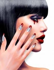Falske blodige negle til kvinder