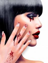 Blodige falske negle til voksne - Halloween