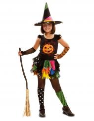 Kostume heks græskar til piger Halloween