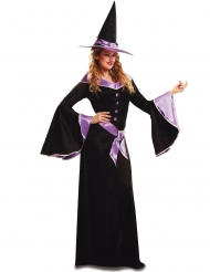 Halloween Heksekostume Lilla Kvinde