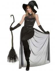 Hekse Kostume Dragt i sort til kvinder