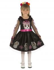 Dia de los Muertos Mini Dødningehoved til piger
