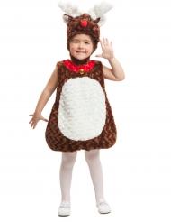 Kostume lille rensdyr til børn til jul