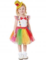 Kostume klovn i tylskørt til piger