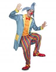 Kostume klovn joker til voksne