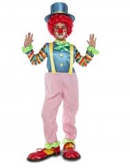 Kostume rosa klovn til børn